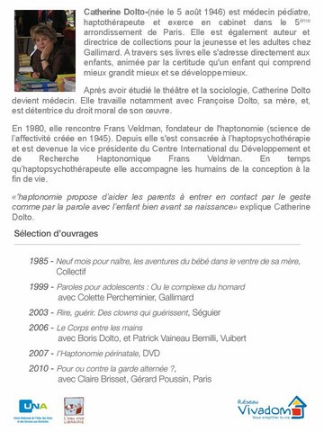 biographie catherine dolto