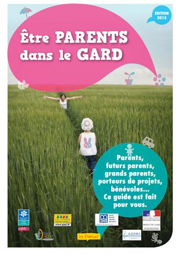 Guide être parent dans le Gard
