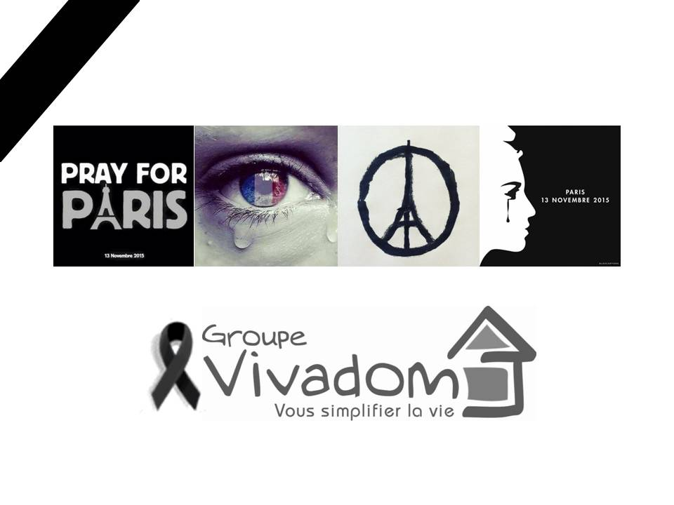 Vivadom pray for paris