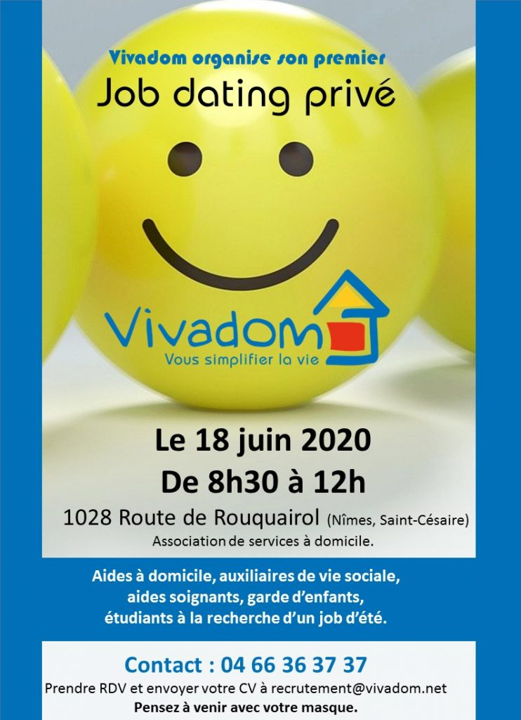Job dating Vivadom 18 juin